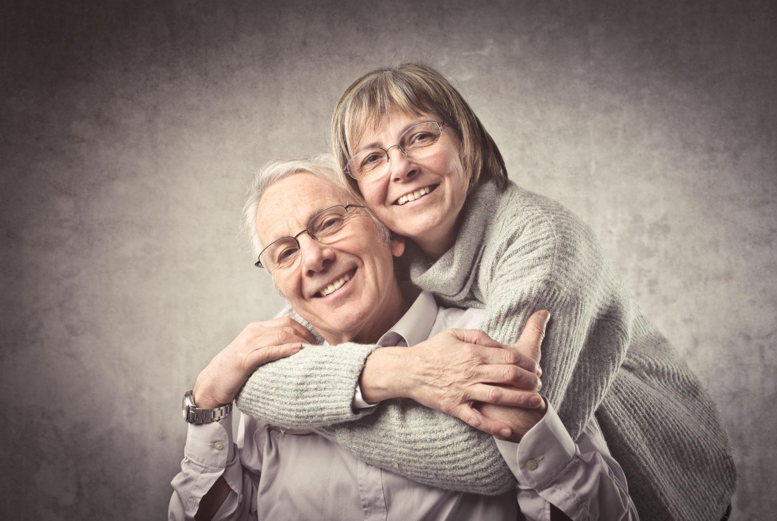 Alter schweizer Paar