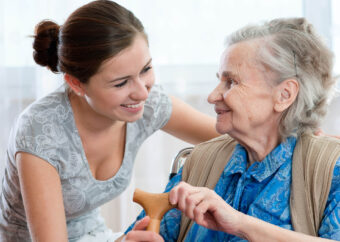 Seniorenbetreuung in der 24 Stunden Betreuung und Pflege Zuhause